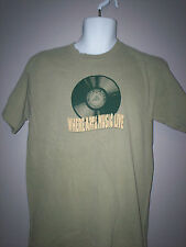 NEW with tag ROCK and ROLL HALL OF FAME T-SHIRT --Green--- S-M-XL-2XL  [I]