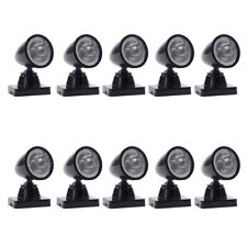LYC18 10-20pcs  Model Railway Christmas Lamp Post Flood Lights O Scale LEDs NEW