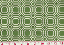 Green White Matelasse Drapery Upholstery Fabric by Regal Fabrics Blair Cl Leaf