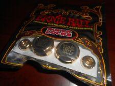 NEW - Ernie Ball Super Locks Strap Lock System - GOLD, #4602