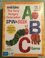 The Very Hungry Caterpillar Spin & Seek ABC Game (NEW)