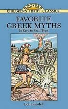 Favorite Greek Myths by Bob Laisdell (Paperback, 1996)