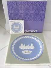 Wedgwood 1974 Christmas Plate - Houses Of Parliament / Sixth in Series