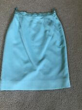 Emanuel Ungaro Mint Green Skirt Size 8