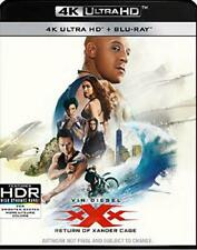 XXX The Return Of Xander Cage 4K Ultra HD Blu-ray UHD Brand New Sealed