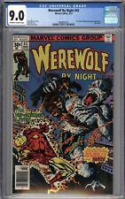 Werewolf By Night #43 CGC 9.0 VF/NM LAST ISSUE