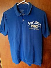 "Men's Old Navy Size Small Blue Polo ""1982 Del Mar Surf Classic"""