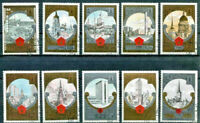 Russia Olympic Gold Tourism CPL Set of 10 Stamps $22.50 Retail Val B127-136 CTO