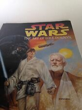 Star Wars Dave Dorman Book 1996 Art