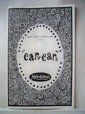 Entertainment Memorabilia Can-can Playbill Chita Rivera Autographed Includes Souvenir Program 1965 Autographs-original