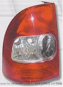Rear Light Unit Fiat Siena Strada Pick-Up 2005-2007 Left Side