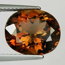 6.00 ct - FABULOUS UNHEATED AAA OVAL  CUT COPPER BROWN NATURAL ENSTATITE -  2354