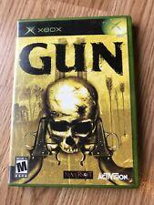 Gun (Microsoft Xbox, 2005) Cib Game H2
