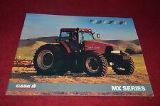Case International MX135 MX120 MX110 MX100 Tractor Dealer's Brochure YABE10