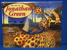 NEW 2015 The Art of Jonathan Green Calendar Sealed Prints Gullah South Carolina