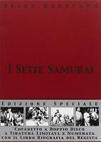 I Sette Samurai 2 DVD + Libro in Cofanetto Nuovo Limited Edition Akira Kurosawa