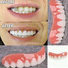 Adult Smile Veneers Denture Paste Teeth Flex Fit Veneers Covers
