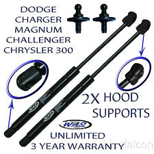 2 Front Hood Lift Supports Kit Shock Prop Rod For 300 Magnum Charger Challenger