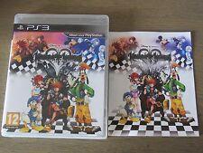 JEU PLAYSTATION 3 PS3  KINGDOM HEARTS HD 1.5 REMIX  COMPLET