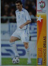 Panini 475 Traianos Dellas Hellas UEFA Euro 2008 Austria - Switzerland
