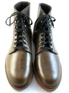 """NEW Allen Edmonds """"Higgins Mill"""" WEATHERProof Boots 11.5 & 11 D Natural (551)"""
