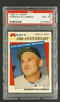 1987 K-Mart #4 Harmon Killebrew HOF Twins KMart PSA 8 NM-MT Only 20 Higher