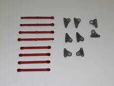 NEW TRAXXAS 1/16 E-REVO TT Tie & Push Rods VXL RE14