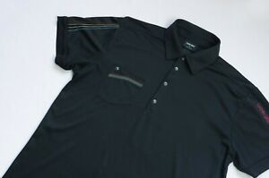 Galvin Green GOLF Polo Ventil8 shirt men Short Sleeve top size XL black