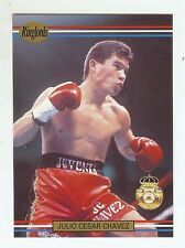 JULIO CESAR CHAVEZ - Boxing Trading Card - 1991 Ringlords