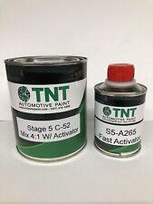 High Gloss Urethane Clear Coat Quart Kit 4:1 w/ Fast Activator