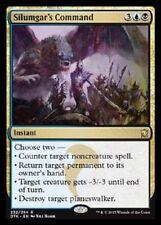 Silumgar's Command FOIL Dragons of Tarkir MtG NM pack-fresh