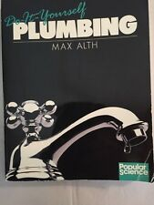 Do It Yourself Plumbing (1987) Max Auth Illustrated Paperback