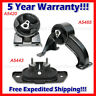 L397 For 08-13 Chry 200 Sebring Dod Avenger 2.4 2.7 3.5L Motor & Trans Mount 3pc