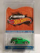 Hot Wheels   2014 MEXICO CONVENTION  custom  1990 HONDA CIVIC EF   #11/20