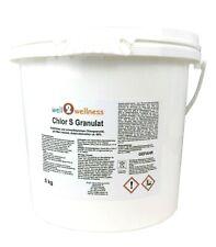 Chlor S Granulat mit 60% Aktivchlor in 9 Var. / Chlorgranulat schnell löslich