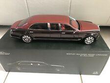 1/18 Bentley Mulsanne Grand Limousine Light Claret - Almost Real