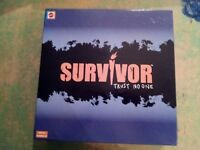 Survivor Trust No One  Game By Mattel 2001 Never played contents sealed