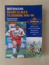 ROTHMANS RUGBY LEAGUE YEARBOOK 1995-96 SPECIAL CENTENARY EDITION
