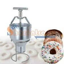 One Manual Home Donut Depositor Dropper Plunger Dough Batter Dispenser Hopper