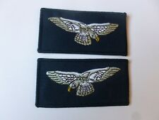 AIRMAN/WOMEN SHOULDER SLEEVE BADGE - IN PAIRS FACING ROYAL AIR FORCE - NEW