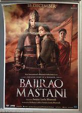 Cinema Poster: BAJIRAO MASTANI 2015 (V1 One Sheet) Priyanka Chopra Ranveer Singh