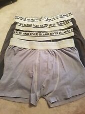 Mens river island Boxers Size M