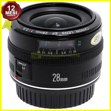 Obiettivo Canon EF 28 mm f2,8 per fotocamere EOS AF digitali e analogiche.