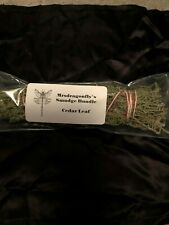 Cedar Leaf Smudge Bundle Stick Large 7 - 11 inches