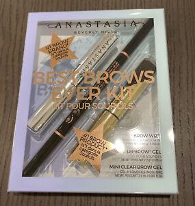 Anastasia Beverly Hills Best Brows Ever Kit in Dark Brown - Wiz Dipbrow Gel