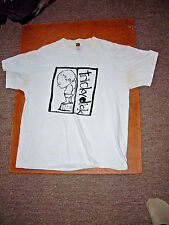 Tricky Dick Vintage Chicago Punk T-Shirt, size Xl, 1998 Quincy Shanks Records
