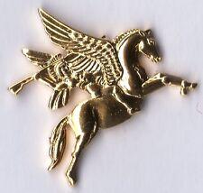 Gilt Metal Lapel Badge Airborne Pegasus