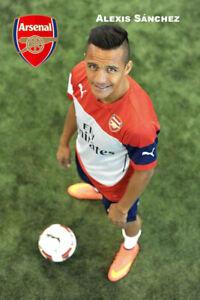 Alexis Sánchez Arsenal  schoenes Postkarte