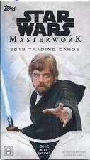 Star Wars Masterwork 2018 Factory Sealed Mini Box
