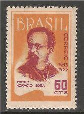 Brazil #756 (A314) VF MINT LH -1953 60c Horacio Pinto De Hora - Painter